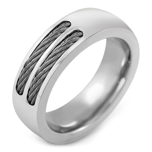 MNC-R373-A Stainless Steel Braid Ring