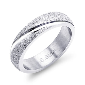 MNC-R432-A Stainless Steel Frosted Ring
