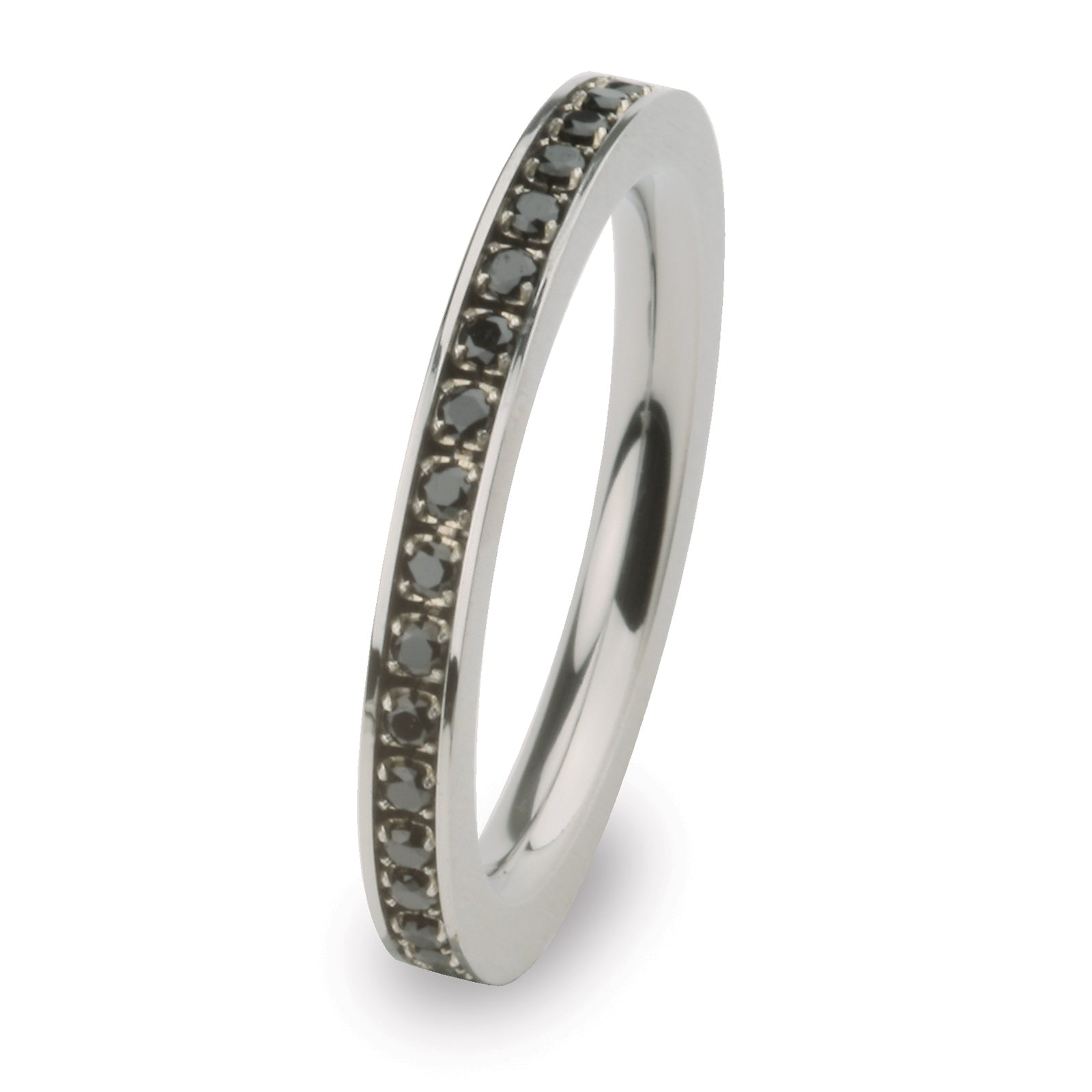 R265BL Stainless Steel Ring