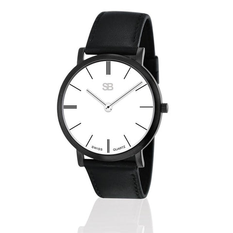 SB13.1-B SOB Steel Watch-SB Design Studio