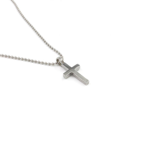 SBCross6 Medium Cross Pendant Necklace