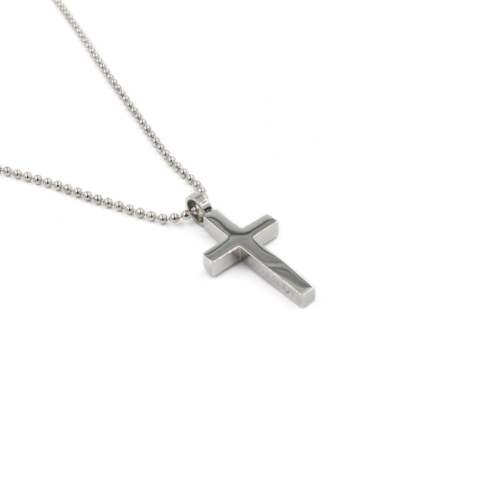 SBCross7 Large Cross Pendant Necklace