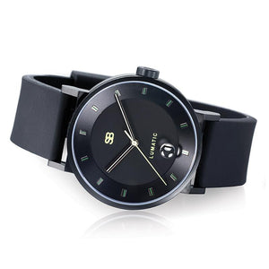 SBLumatic1.1 : Steel Blaze Automatic Watch-SB Design Studio