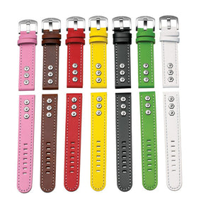 Steel Blaze 18mm 3 Flower Watch Strap-SB Design Studio