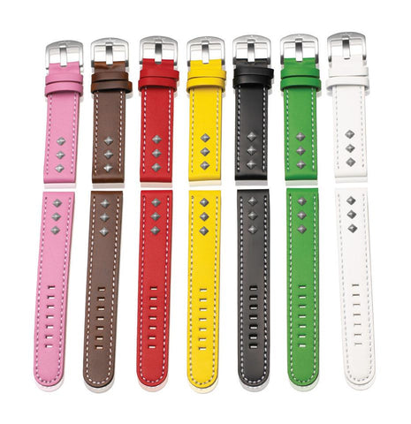 Steel Blaze 18mm 3 Rivet Watch Straps-SB Design Studio