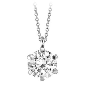 SSPES-021E Silver Gemstone Pendant Necklace