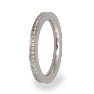 VR55 Stainless Steel Wedding Band