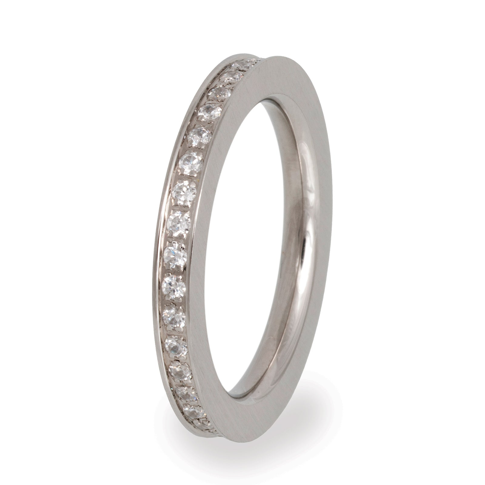 VR56 Stainless Steel Wedding Band