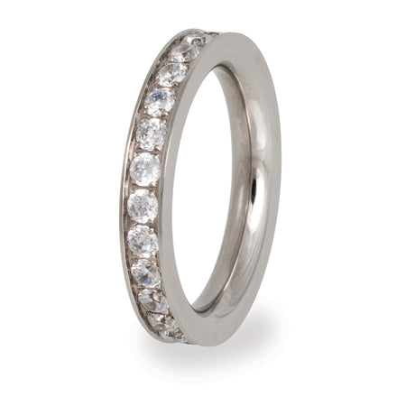 VR58 Stainless Steel Wedding Band