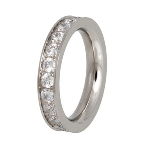 VR59 Stainless Steel Wedding Band