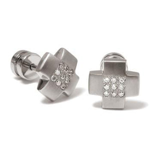 0506-04 Boccia Titanium Earrings
