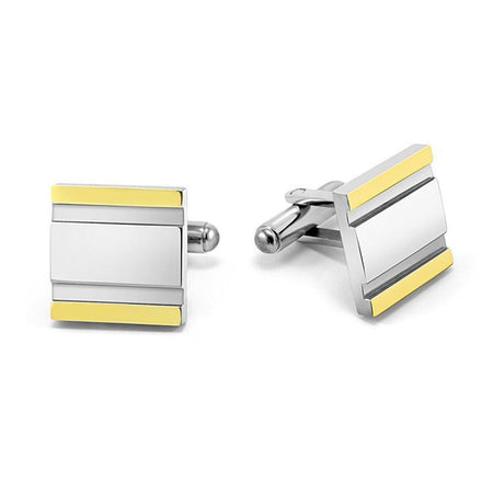 MNC-PC0200G 40Nine Steel Cufflinks
