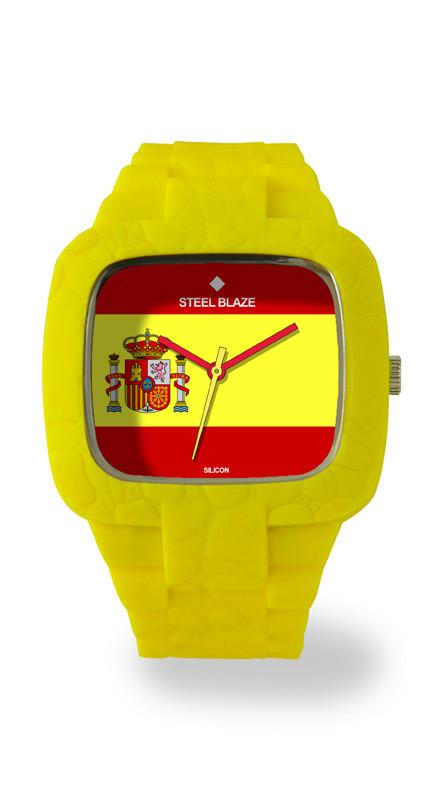 SPAIN3 Silicone Blaze Watch
