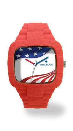 US5 Silicone Blaze Watch