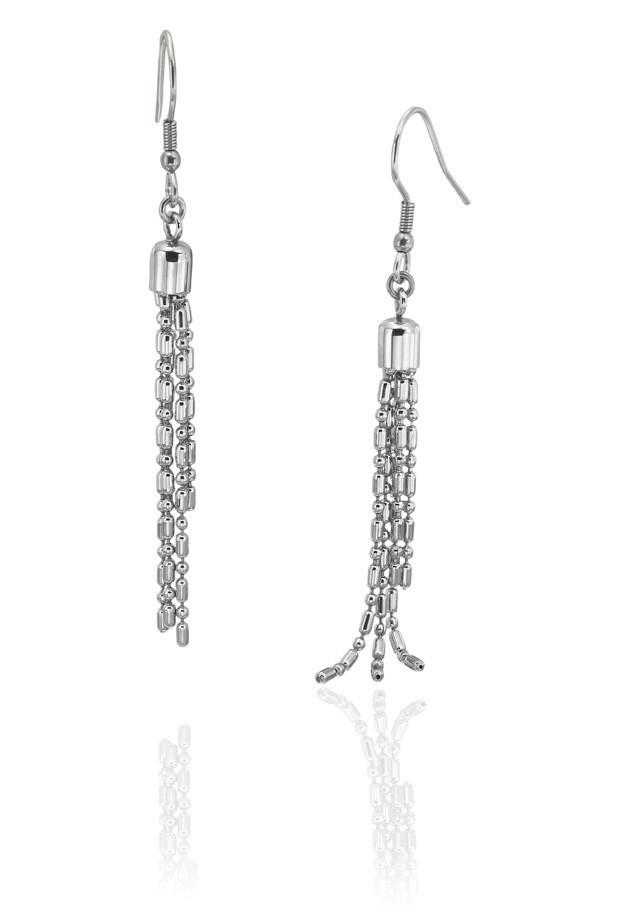 6527-43760k Stainless Steel Earrings