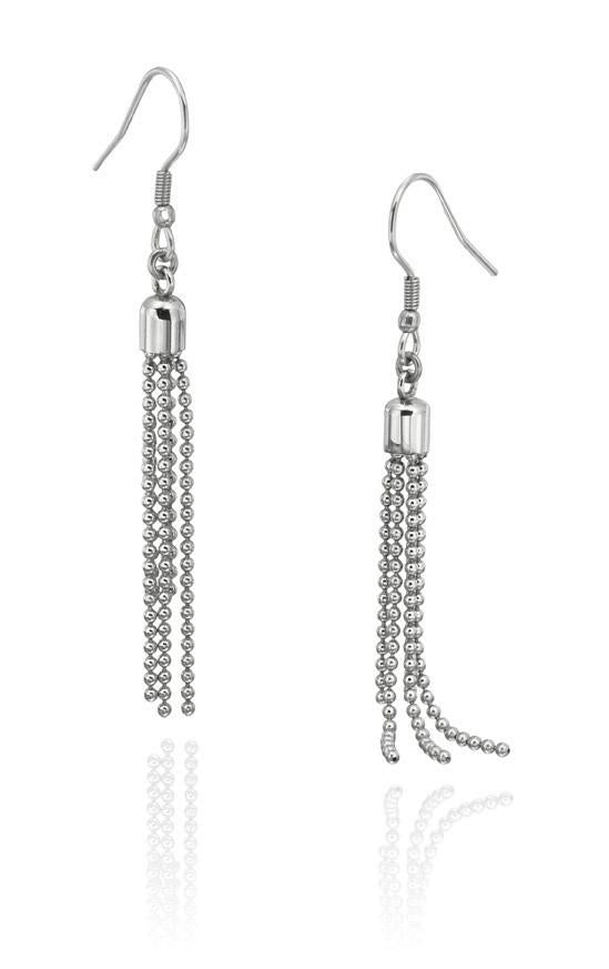 6527-43759k Stainless Steel Earrings