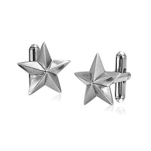 CK0002 SB Bronze Star Cufflinks