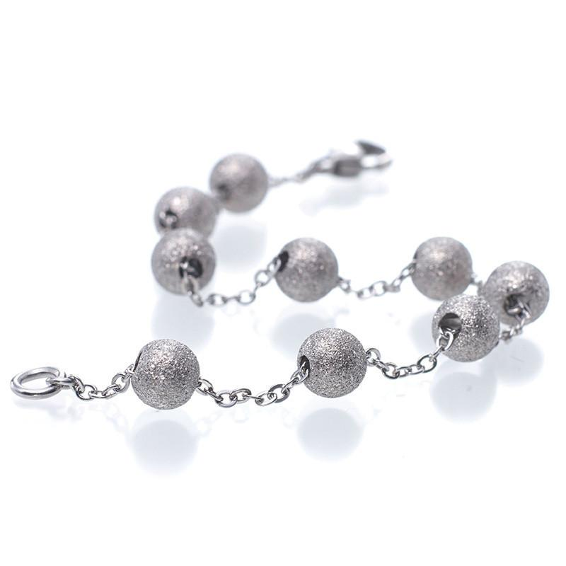 MNC-BR048-A 40Nine Steel Ball Bracelet