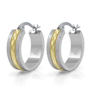 MNC-ER089-B 40Nine steel earrings