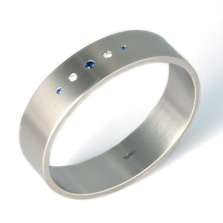 029.04S01sb TeNo Stainless Steel Bangle Bracelet