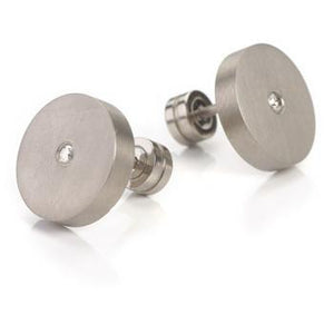 0501-01 Boccia Titanium Earrings
