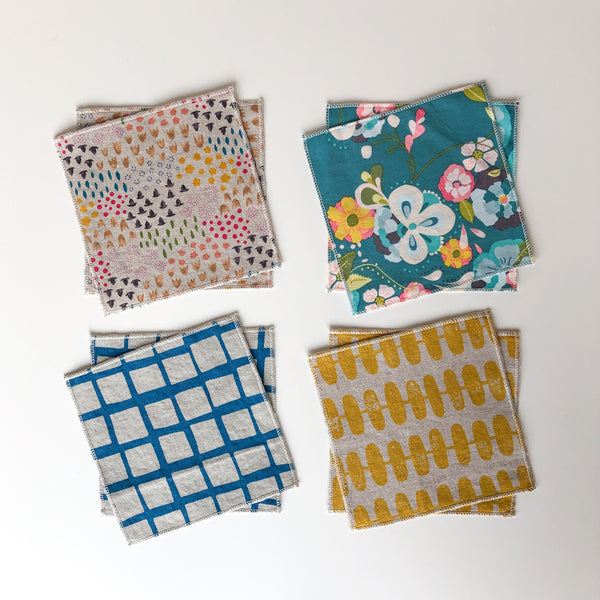 odds and ends - tiny napkins set of 8
