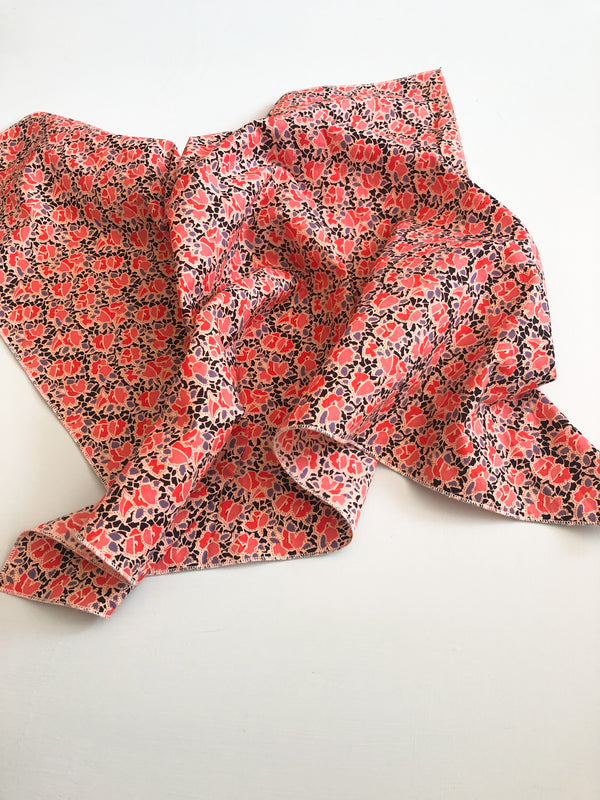 Square scarf - Italian floral