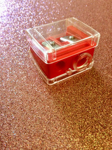 Red KUM Cosmetic Sharpener