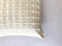 Set of 2 Off White Poly Silk Embroidered Cushion Covers
