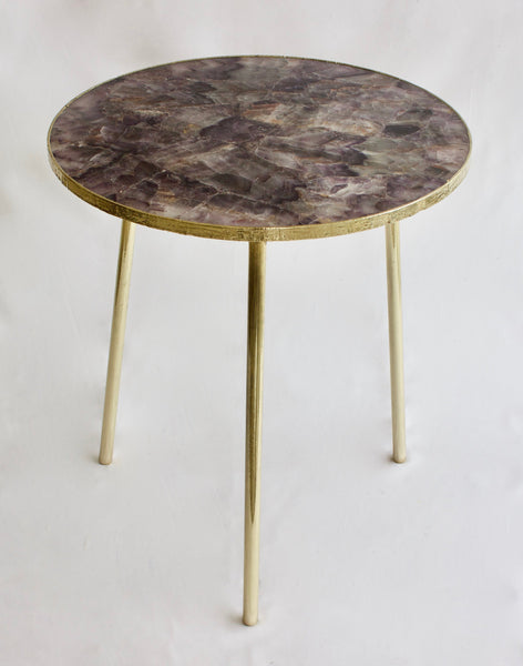 Amethyst Round Coffee/Side Table