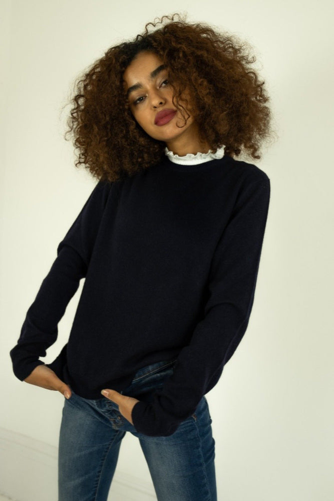 La Sororité - Navy Jumper for Women