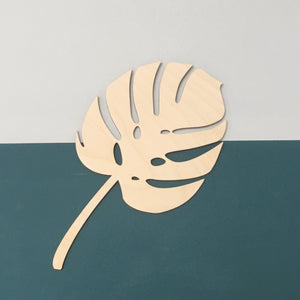 LARGE MONSTERA BOTANICAL LEAF