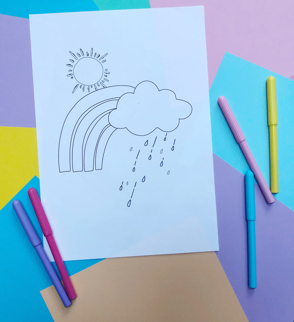 PRINTABLE COME RAIN OR SHINE