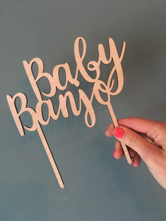 MULTIPLE NAME CAKE TOPPER