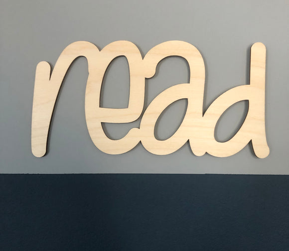 SMALL READ SIGN