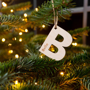 BOLD HANGING PERSONALISED LETTERS