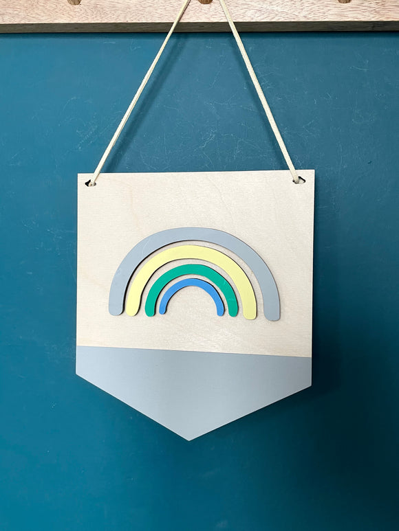 RAINBOW PLAQUE