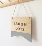 LAUGH LOTS PLAQUE