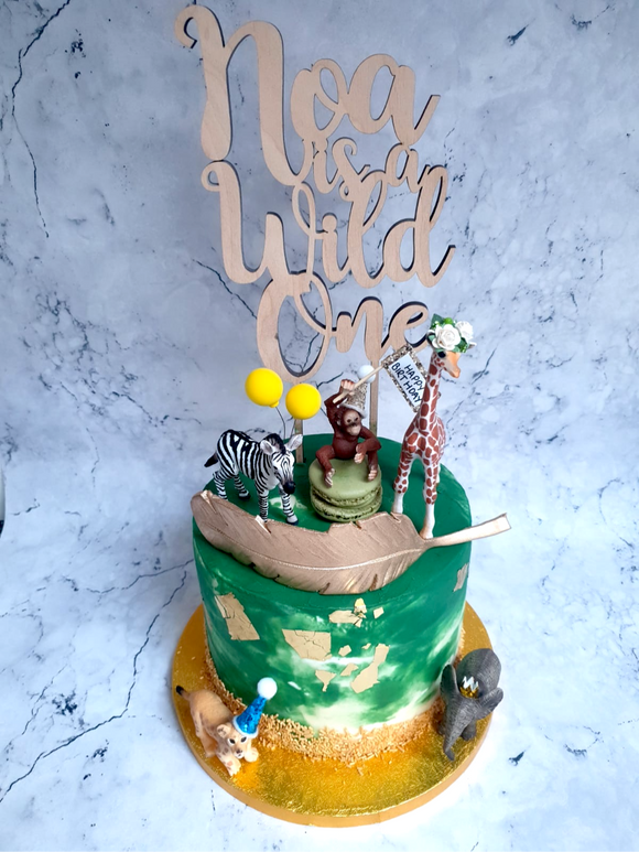 PERSONALISED WILD ONE CAKE TOPPER
