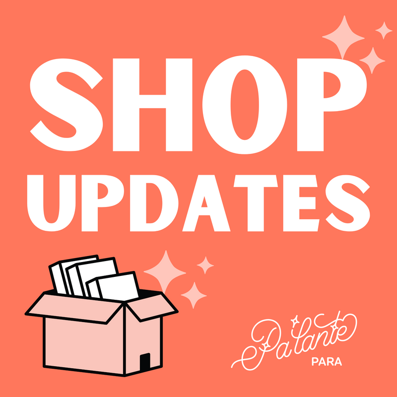 Mid-November Shop Updaes!