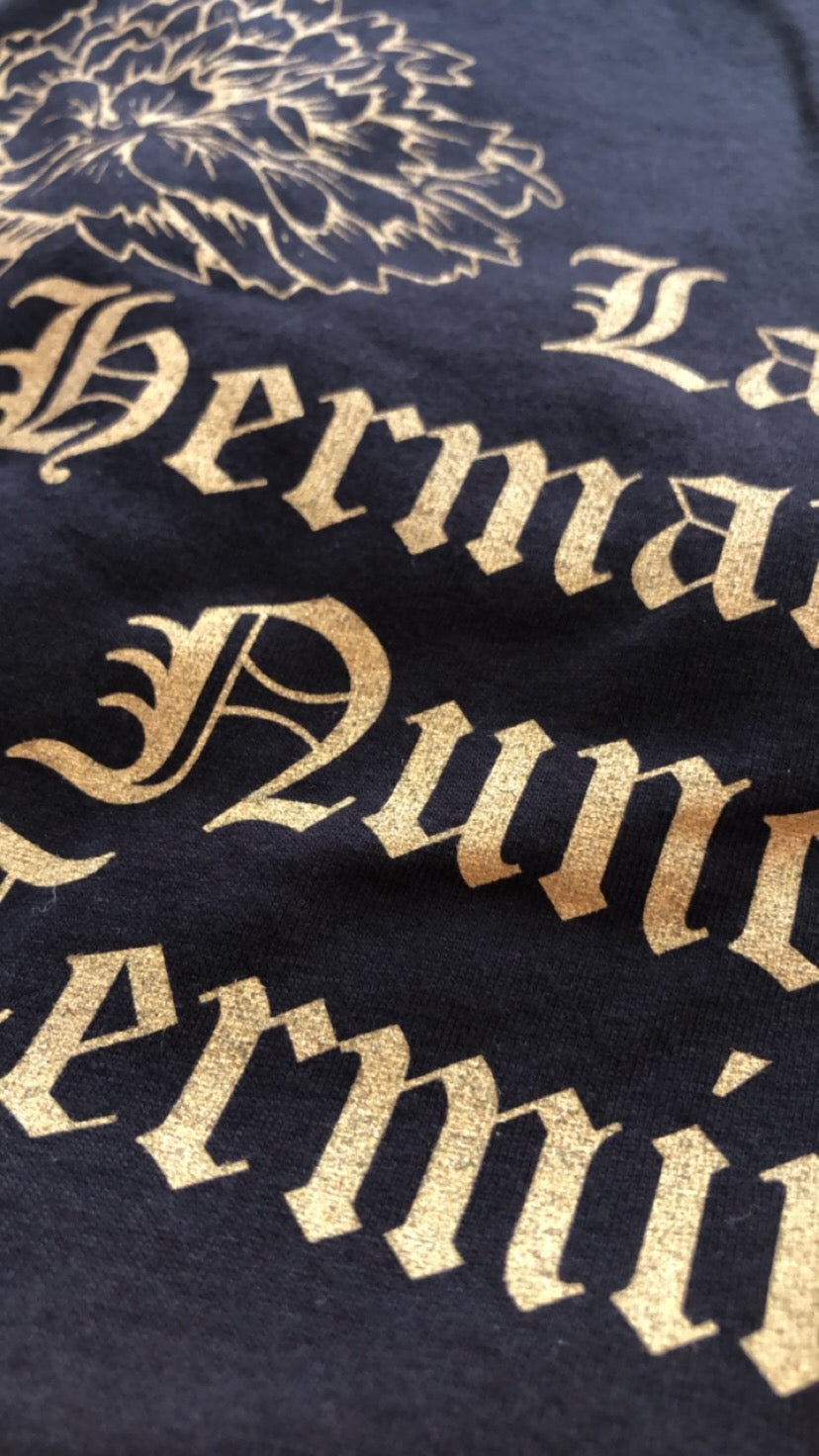 La Hermandad Tee Limited Edition Metallic Gold