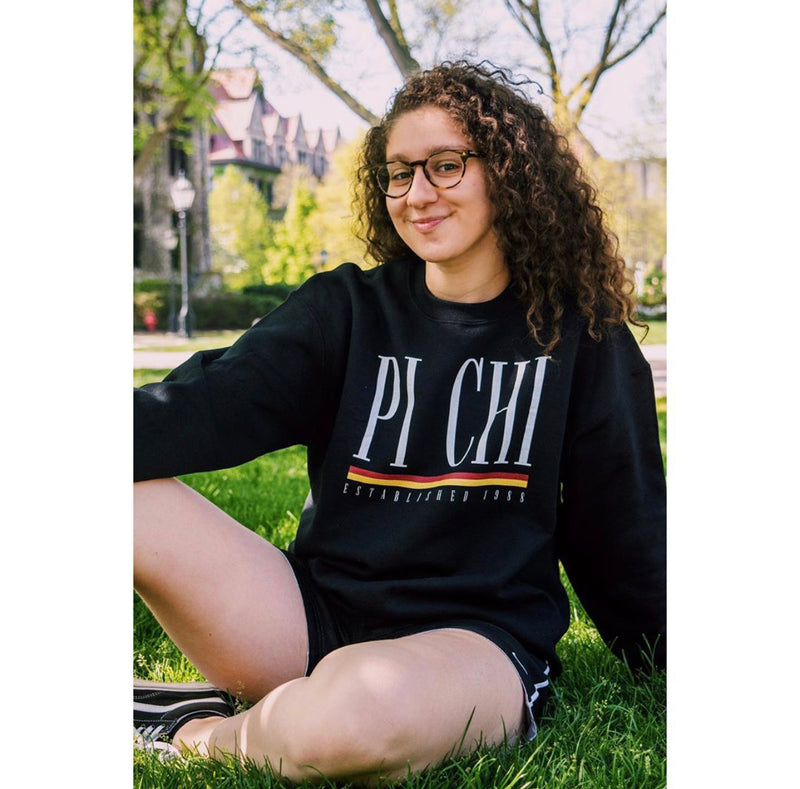 Pi Chi Old School Crewneck