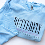 Butterfly Old School Crewneck