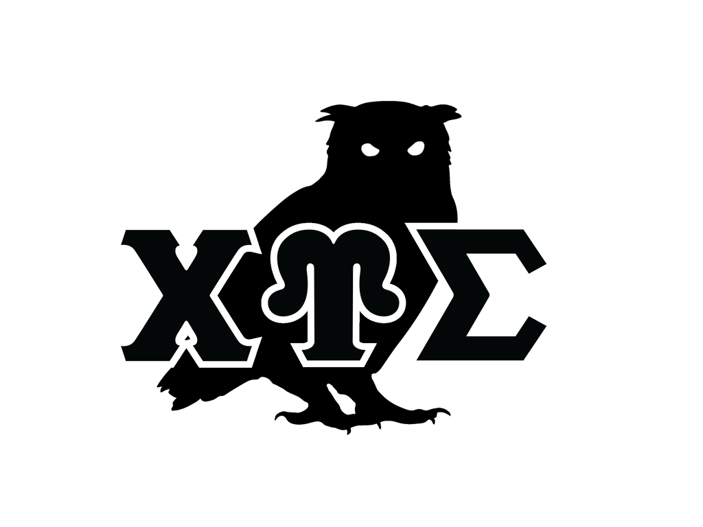 CUS Owl Letters Decal Sticker