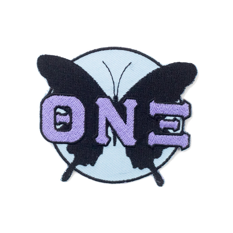 TNX Butterfly Embroidered Patch