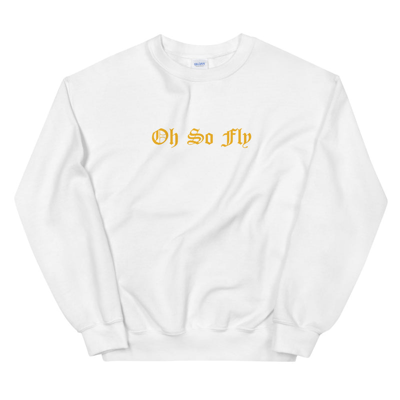 Oh So Fly Carnation Floral Crewneck