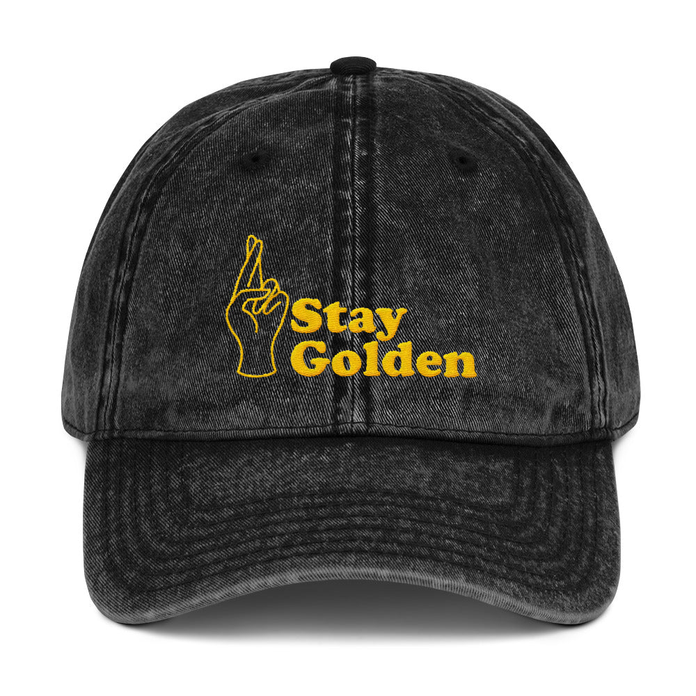 Stay Golden Vintage Dad Cap