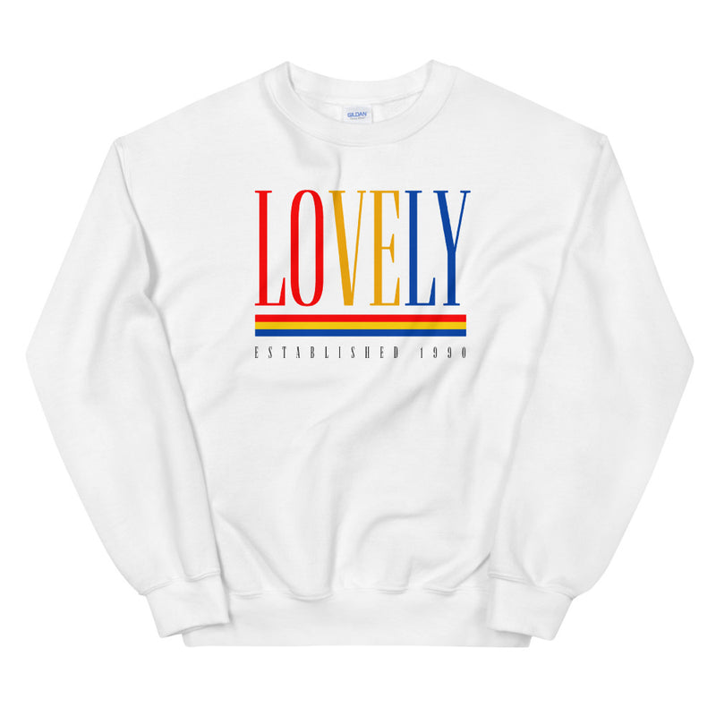 Lovely Old School Crewneck