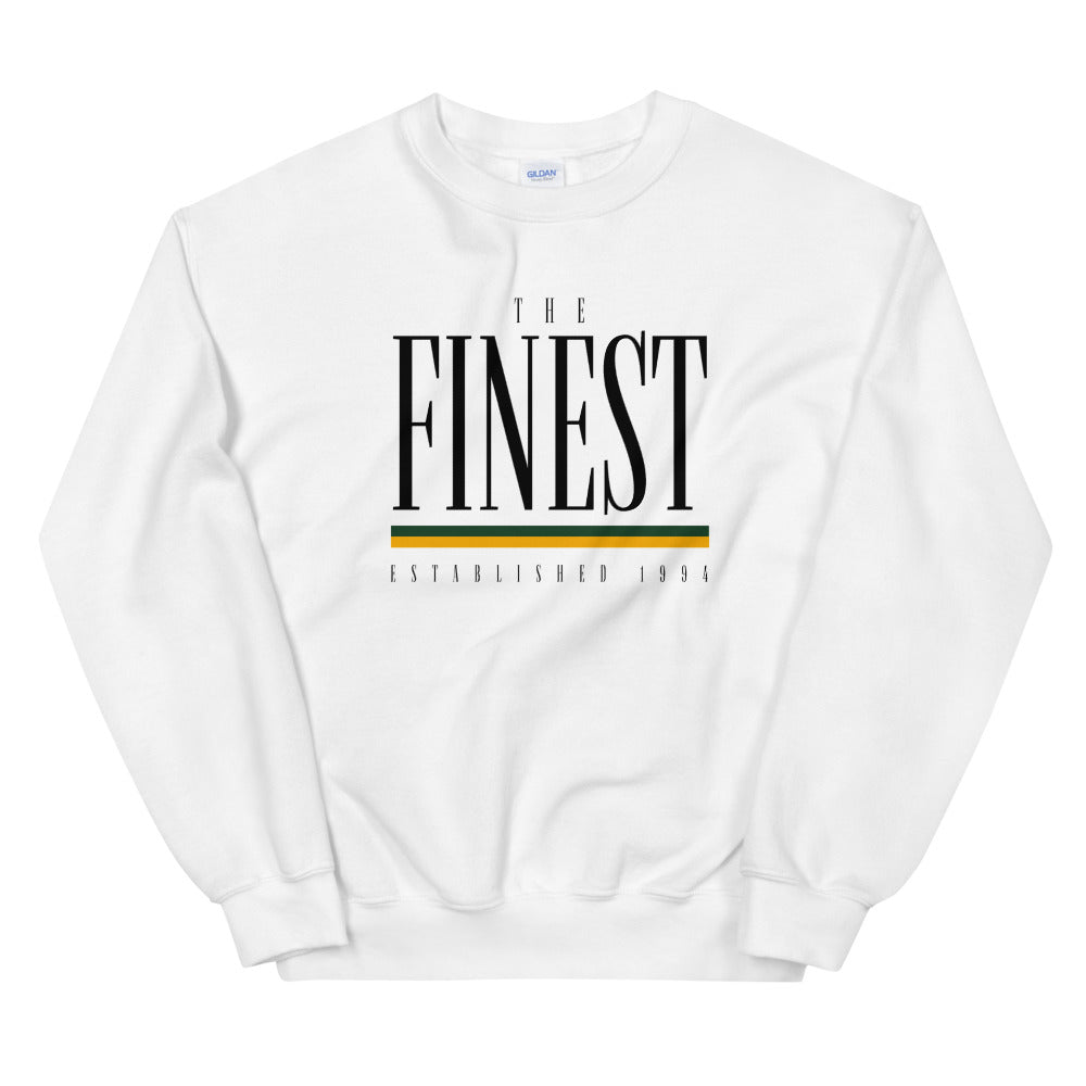 The Finest Old School Crewneck