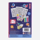 TigerTribe Magical Creatures Colouring Set